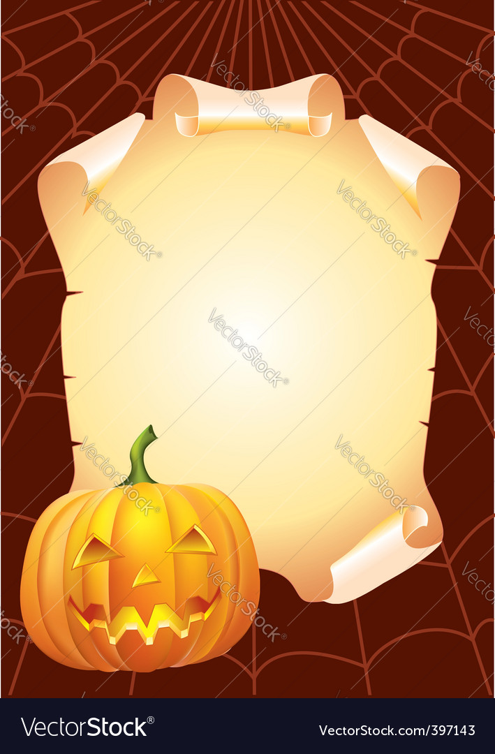 Halloween paper vector | Price: 3 Credit (USD $3)