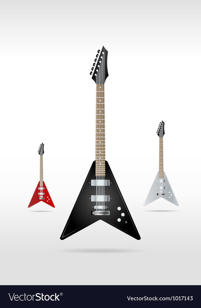 Rock guitar vector | Price: 3 Credit (USD $3)