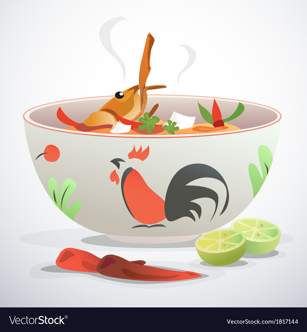 Tom yum kung vector | Price: 1 Credit (USD $1)