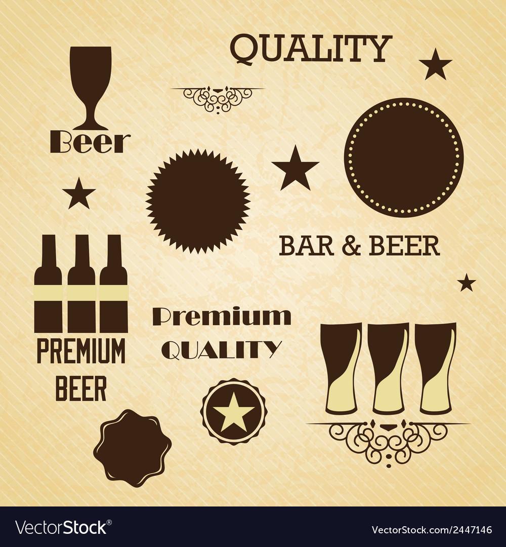 Bar labels vector | Price: 1 Credit (USD $1)