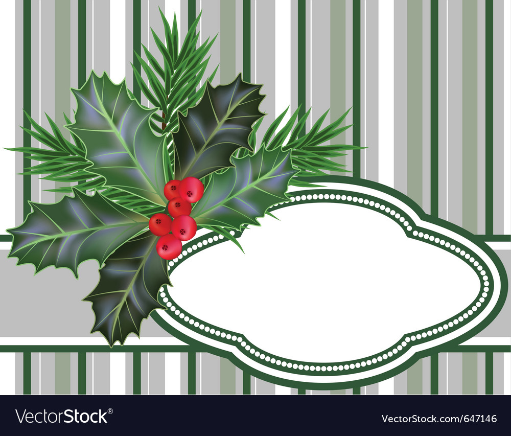 Christmas and new year card vector   Price: 1 Credit (USD $1)