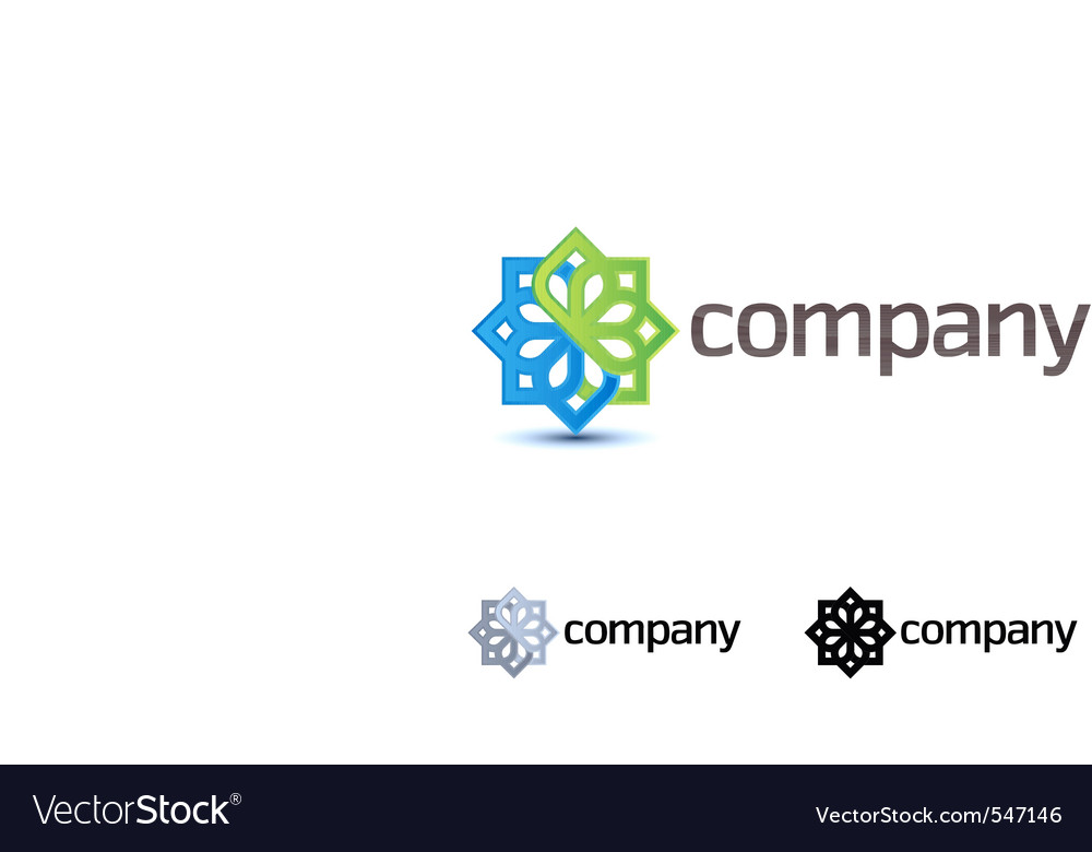 Company design element vector | Price: 1 Credit (USD $1)