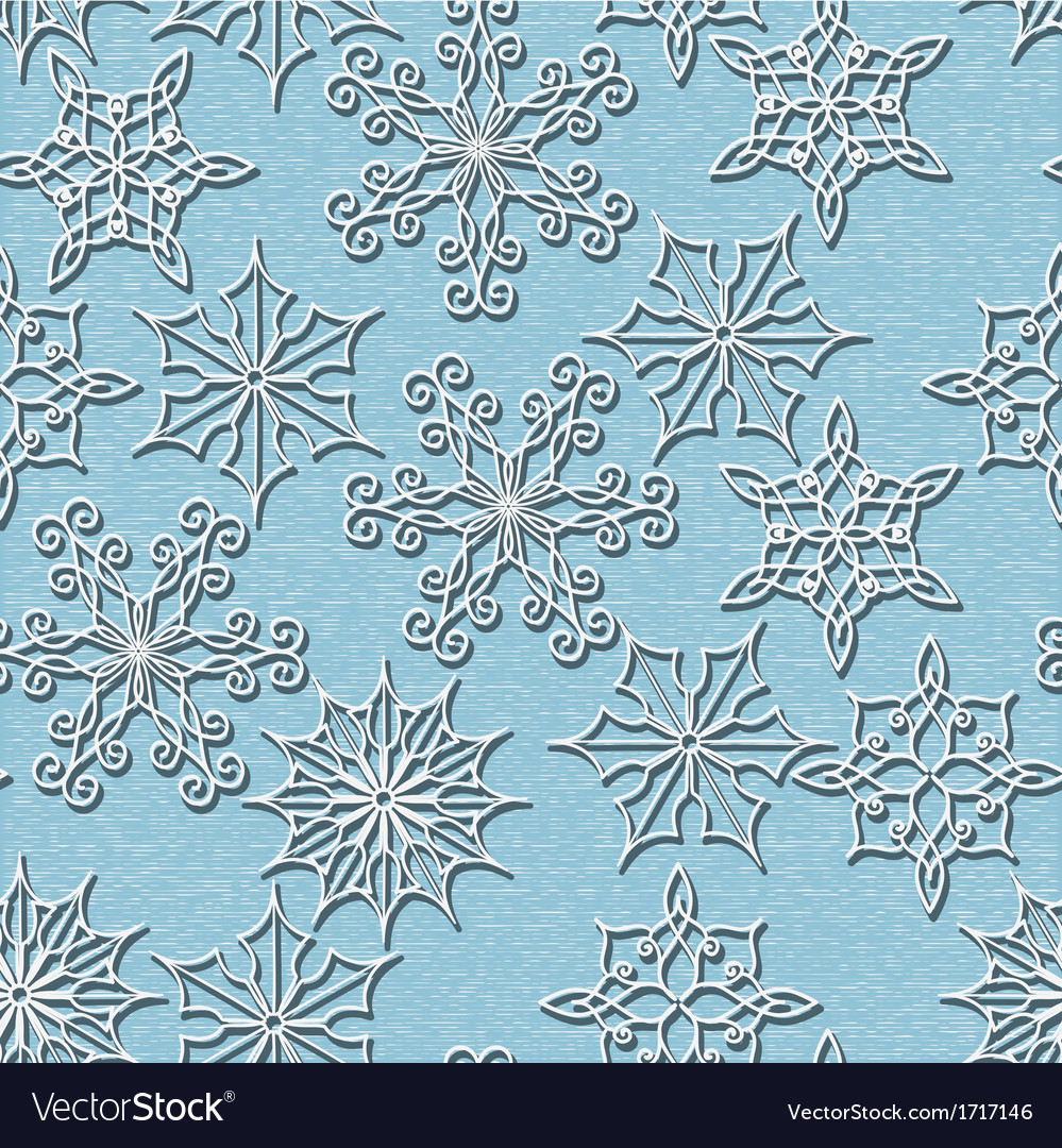 Seamless christmas and new year pattern vector | Price: 1 Credit (USD $1)