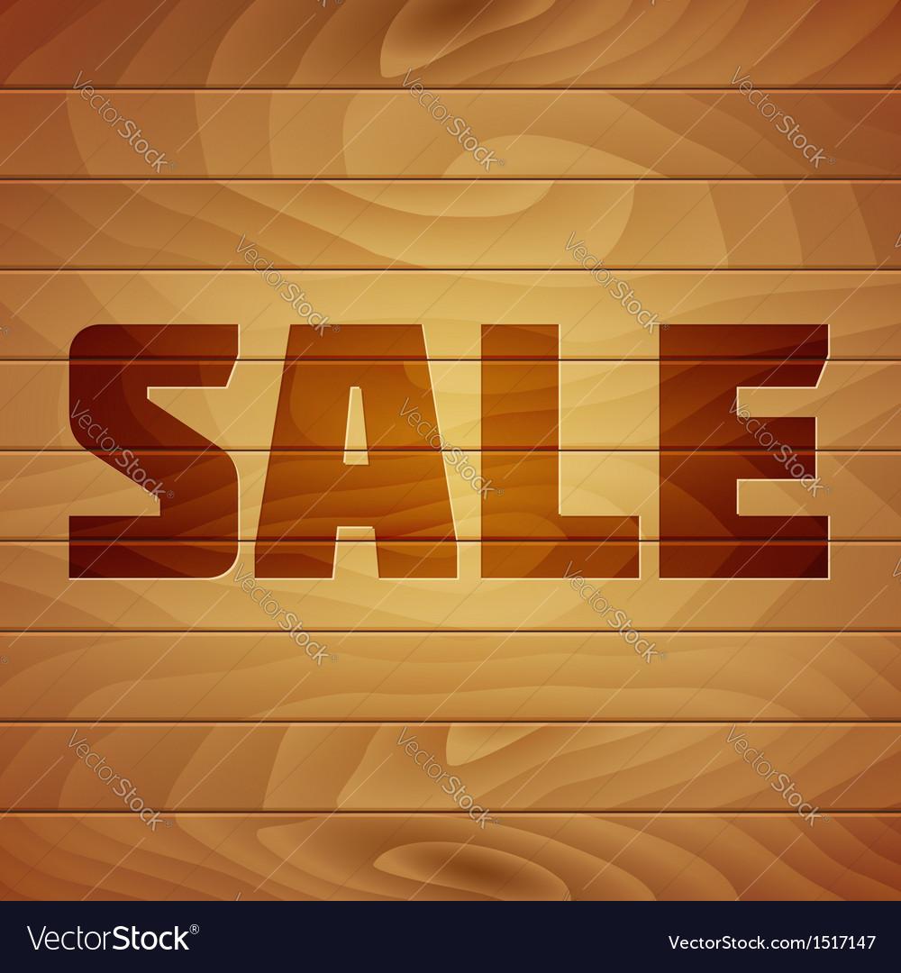 Burn sale tag on wood texture vector | Price: 1 Credit (USD $1)