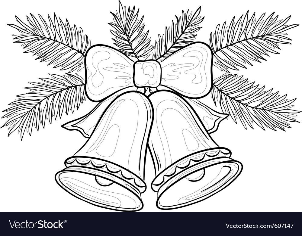 Christmas bells vector | Price: 1 Credit (USD $1)