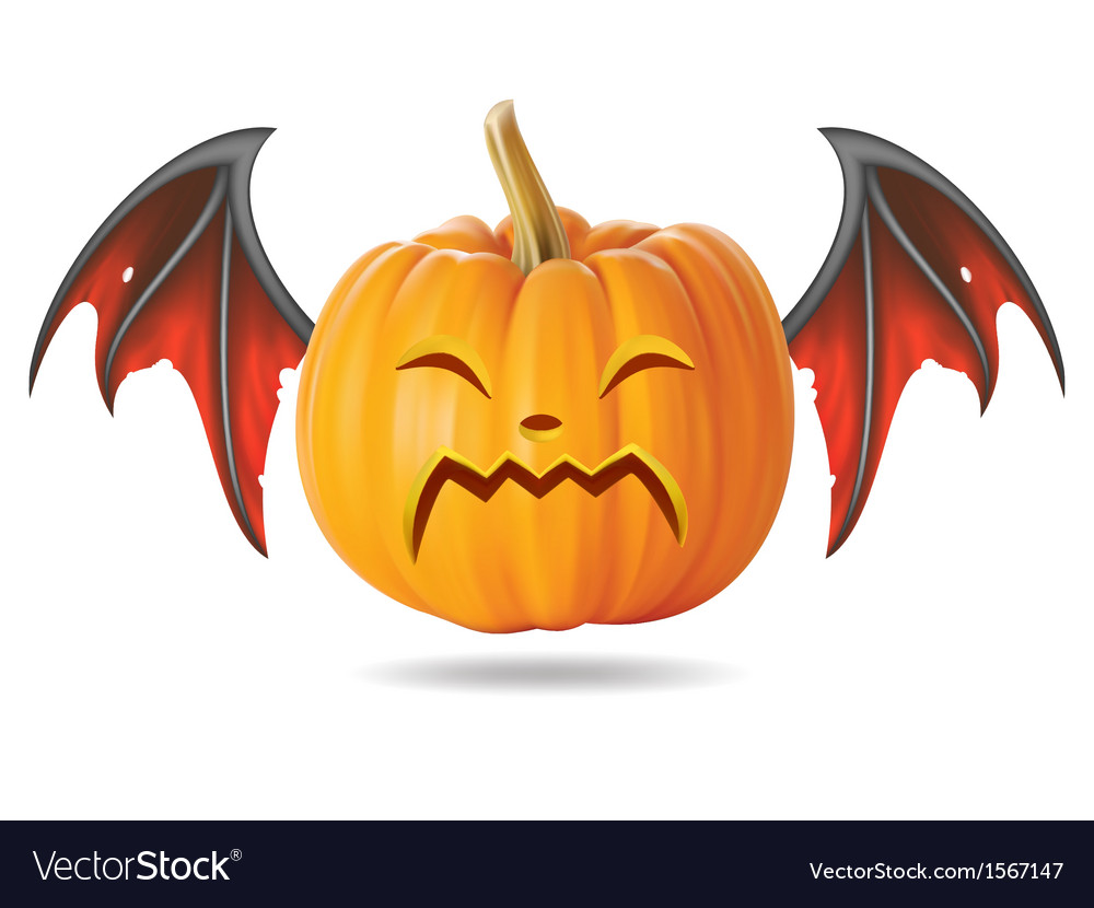 Cry pumpkin2 vector | Price: 1 Credit (USD $1)