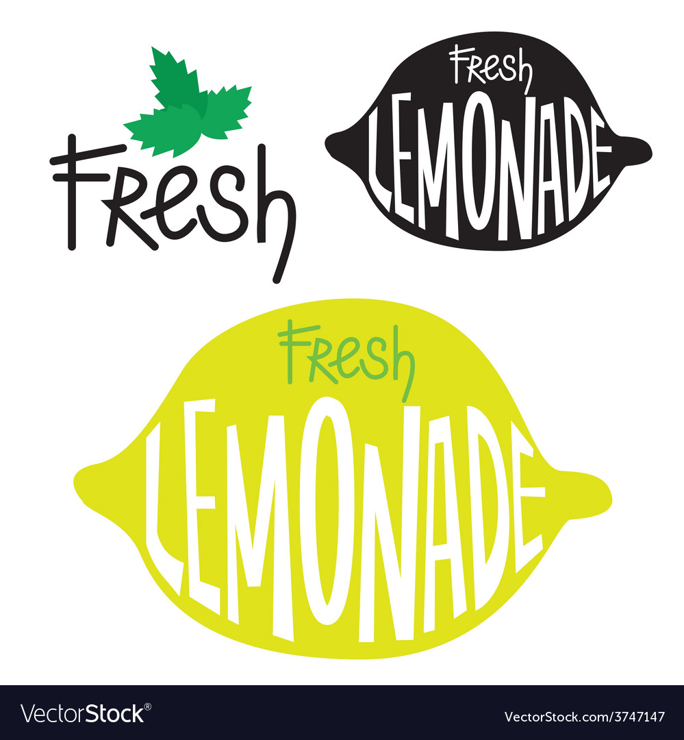 Lemonade label design vector | Price: 1 Credit (USD $1)