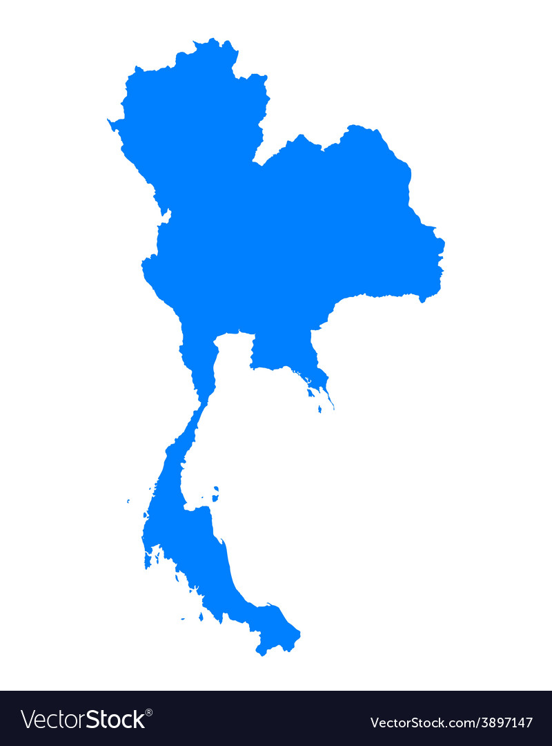Map of thailand vector   Price: 1 Credit (USD $1)