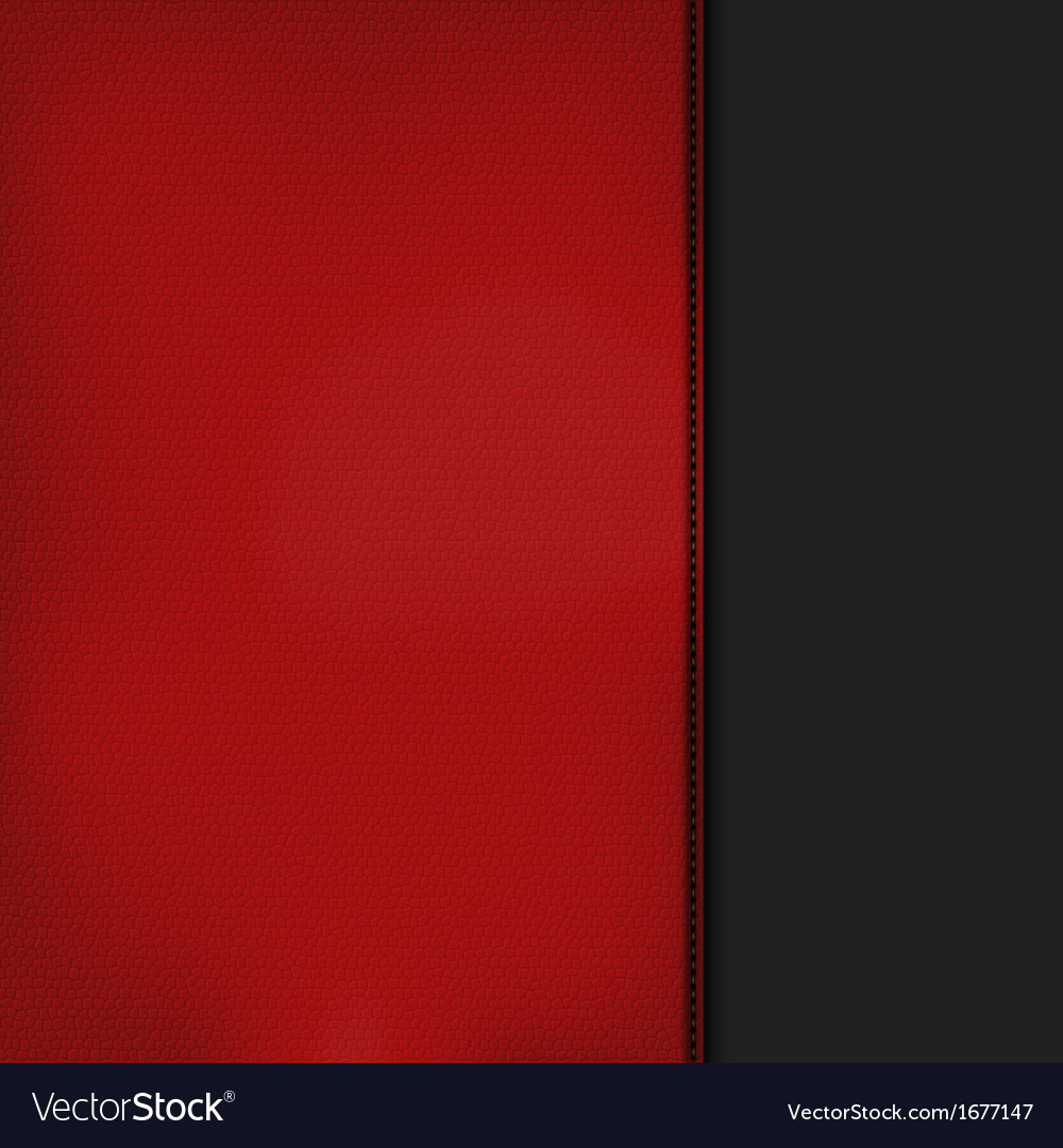 Red leather background vector | Price: 1 Credit (USD $1)