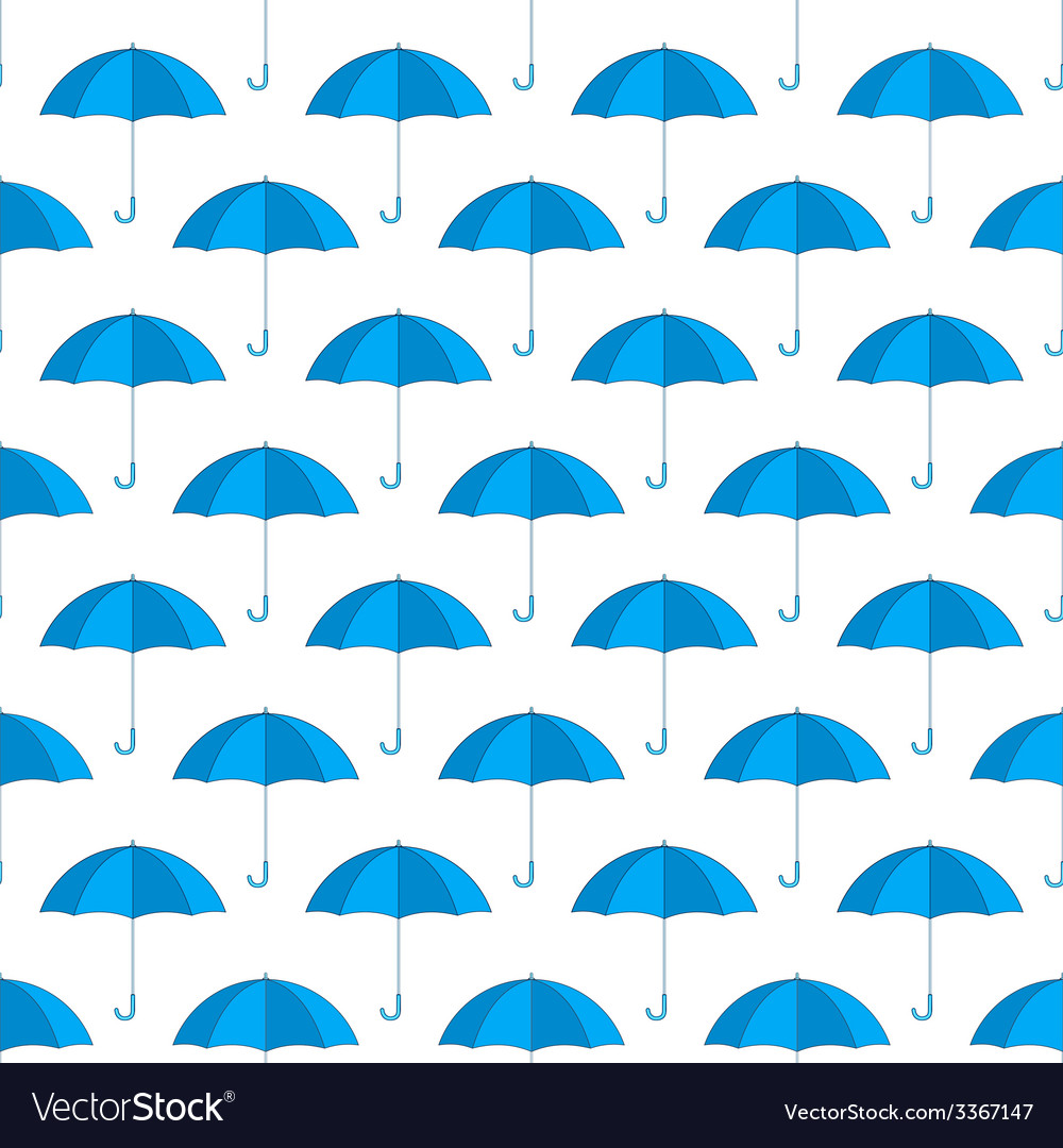 Umbrella pattern vector | Price: 1 Credit (USD $1)