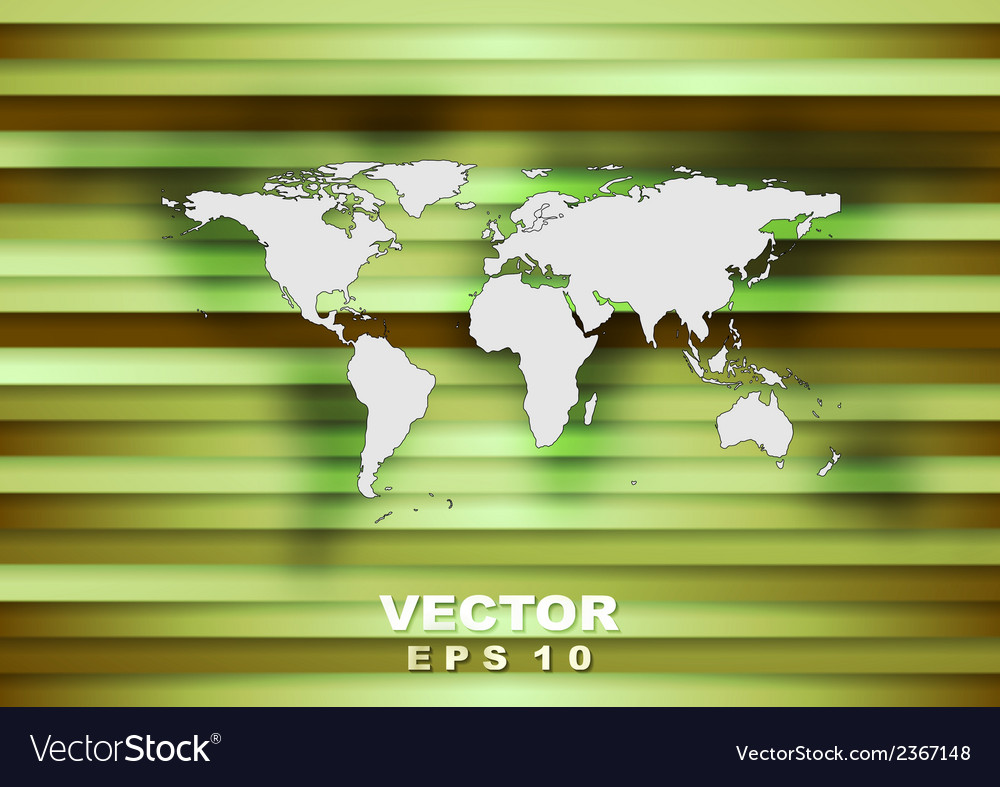 Abstract world map tech background vector | Price: 1 Credit (USD $1)