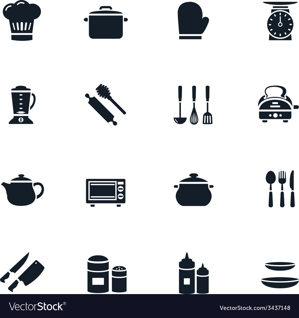 Kitchenware icon vector | Price: 1 Credit (USD $1)