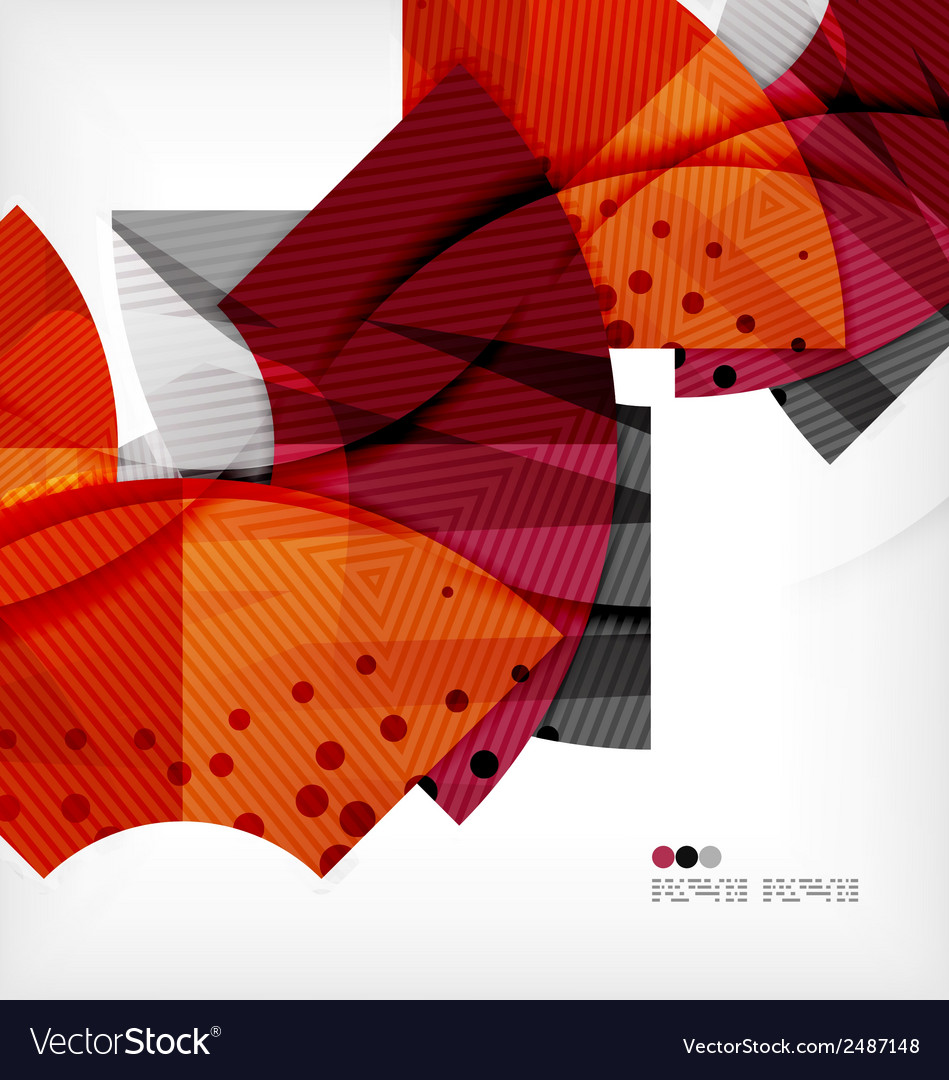 Modern futuristic techno abstract composition vector   Price: 1 Credit (USD $1)