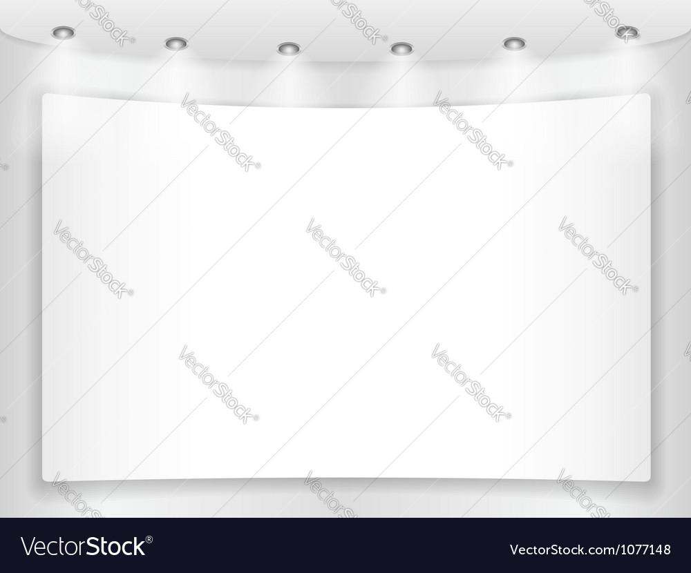 Placard vector | Price: 1 Credit (USD $1)