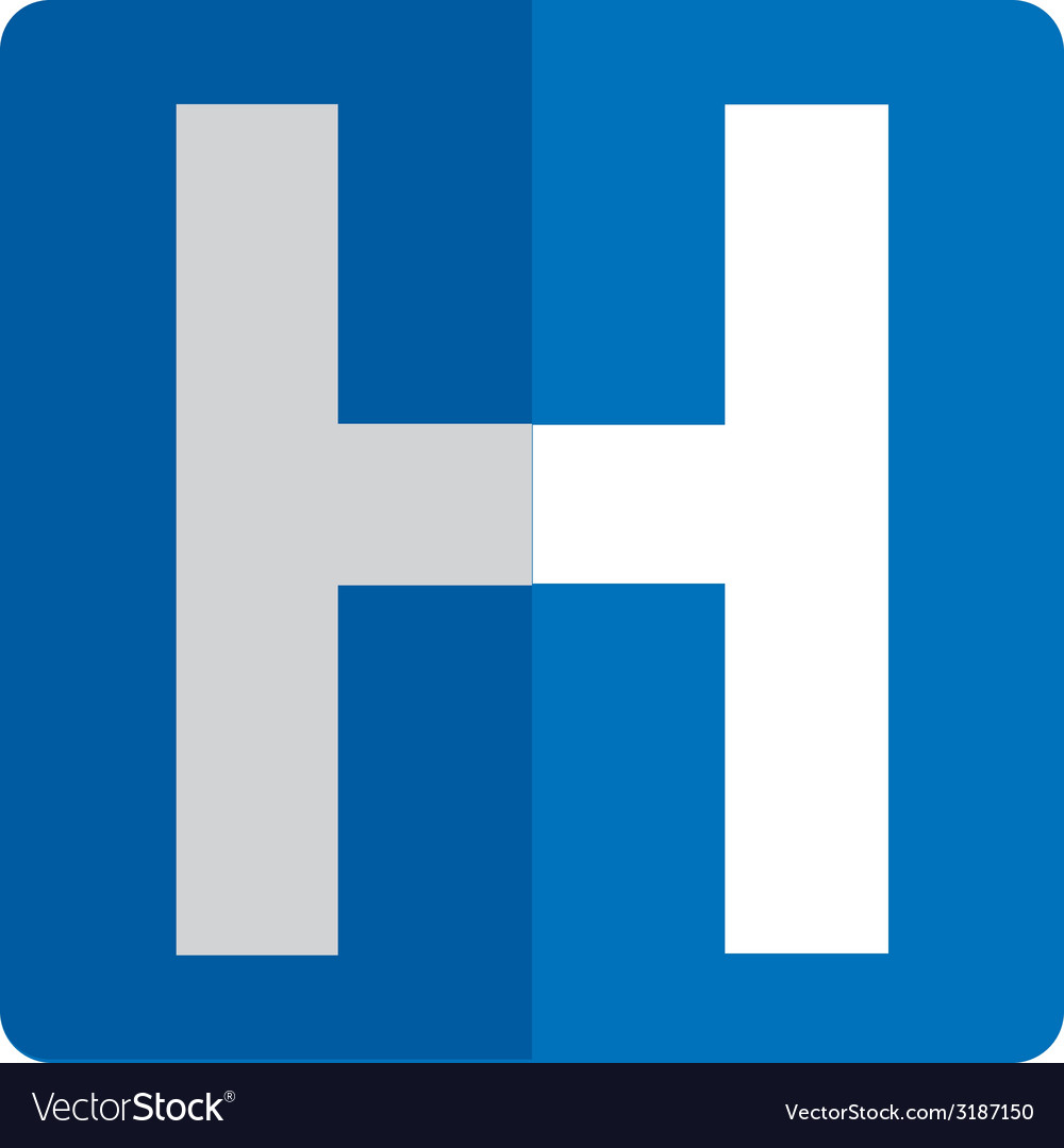 Hospital design vector | Price: 1 Credit (USD $1)
