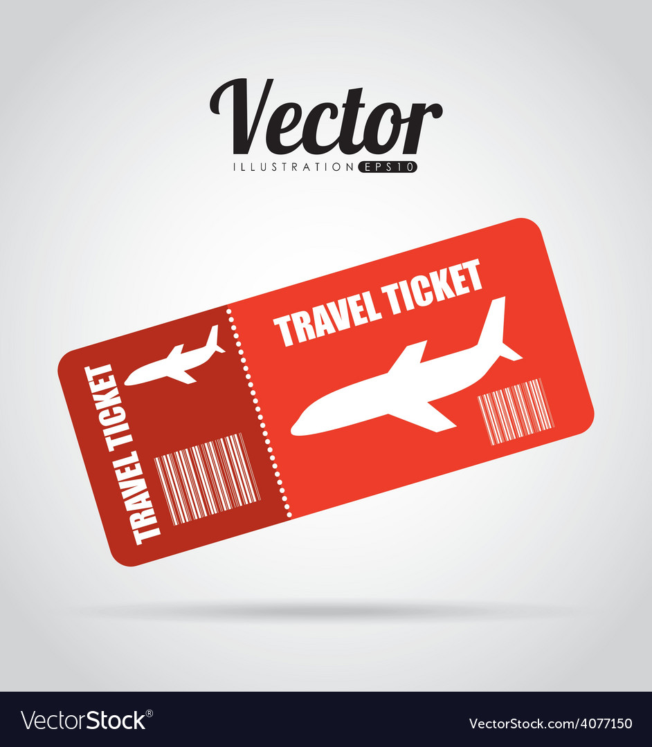 Ticket fly vector | Price: 1 Credit (USD $1)