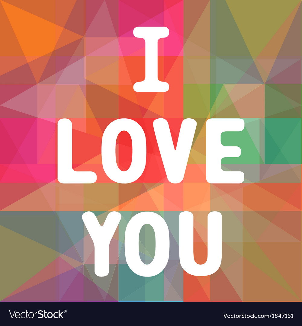 I love you3 vector | Price: 1 Credit (USD $1)