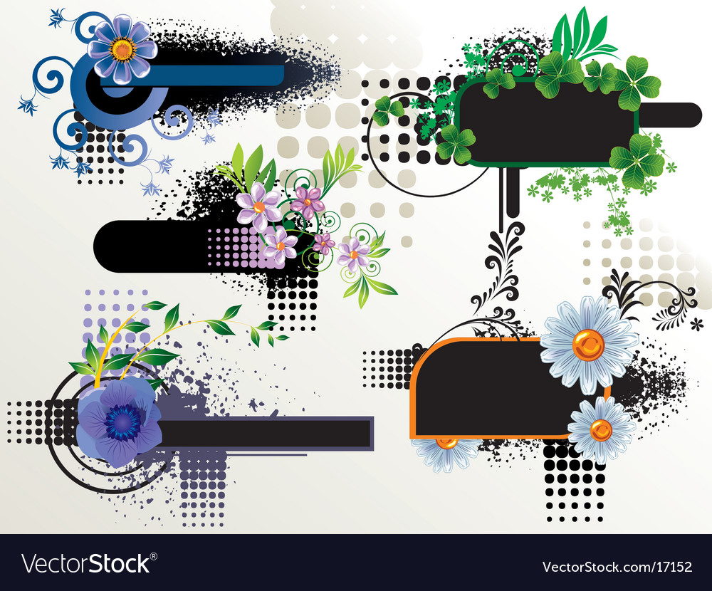 Abstract elements vector | Price: 1 Credit (USD $1)