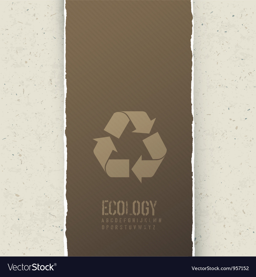 Ecology themed abstract background vector | Price: 1 Credit (USD $1)
