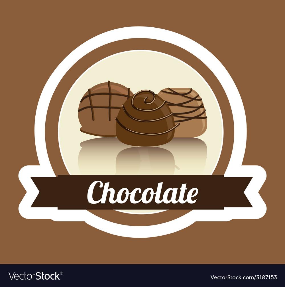 Chocolate design vector | Price: 1 Credit (USD $1)