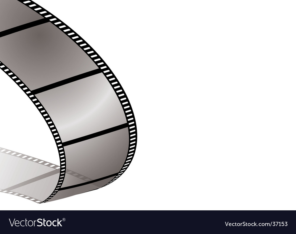 Film bend shadow vector | Price: 1 Credit (USD $1)