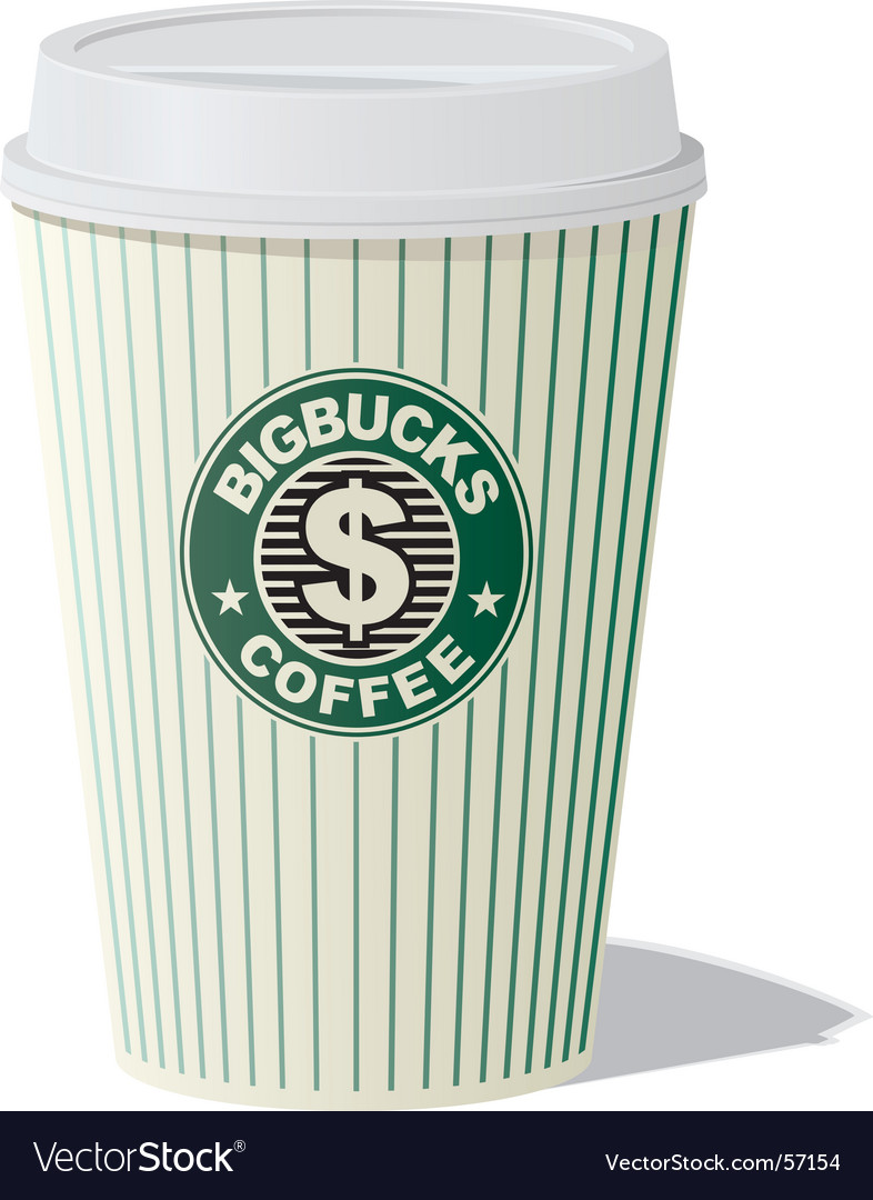 Bigbucks coffee vector | Price: 1 Credit (USD $1)