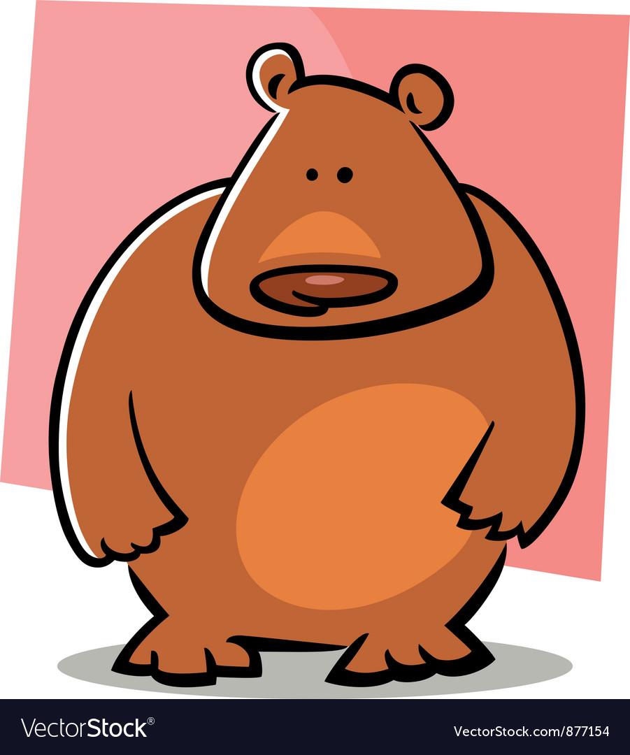Doodle bear vector   Price: 1 Credit (USD $1)
