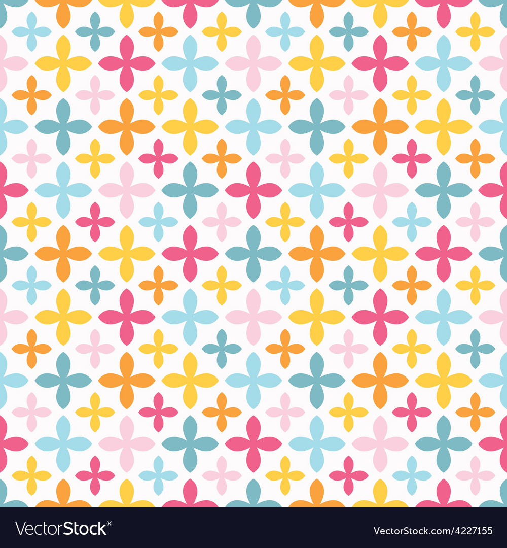 Bright seamless pattern endless texture vector | Price: 1 Credit (USD $1)