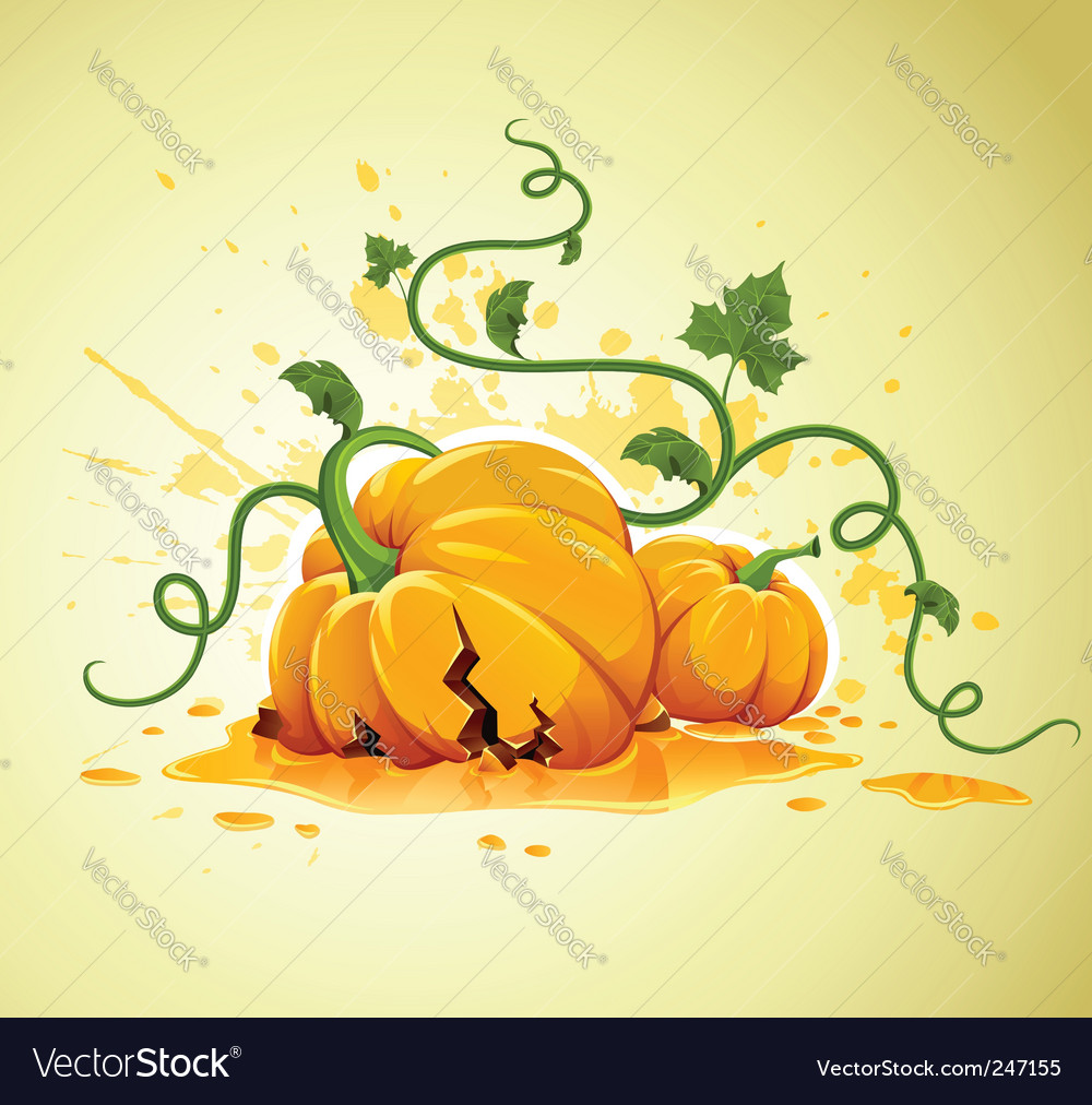 Halloween pumpkin vector | Price: 3 Credit (USD $3)