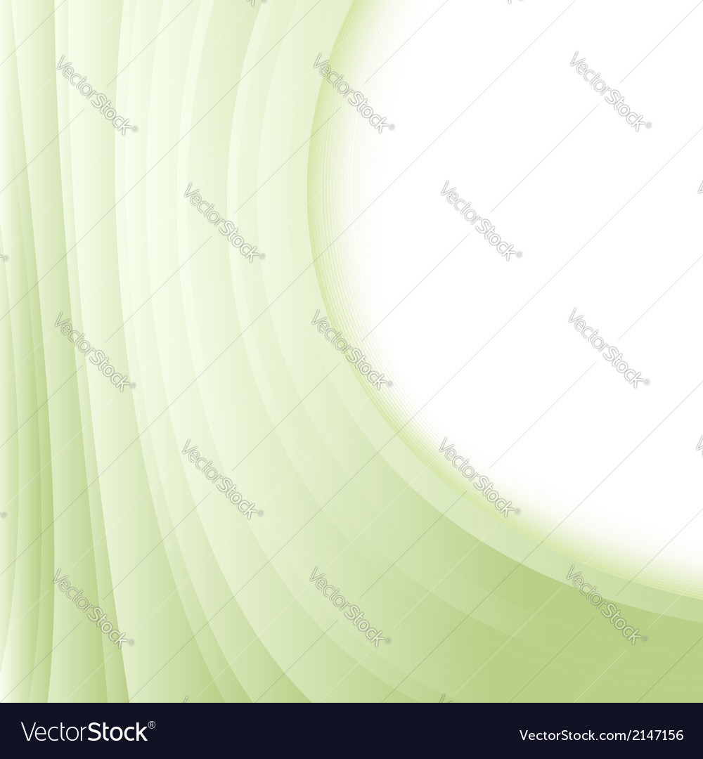 Green waves folder - abstract background vector | Price: 1 Credit (USD $1)