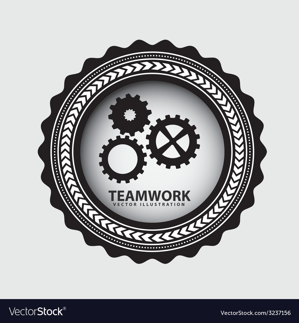 Teamwork design vector | Price: 1 Credit (USD $1)