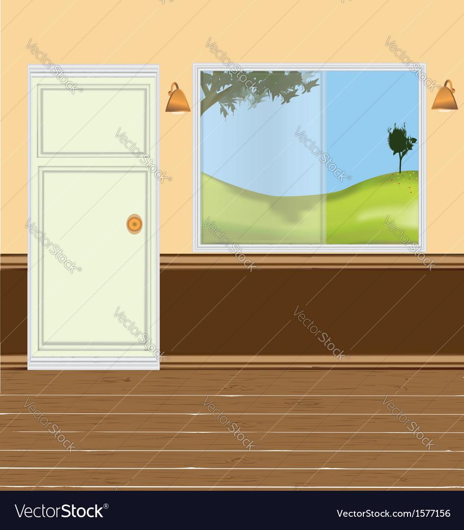 Wall windows door vector | Price: 1 Credit (USD $1)