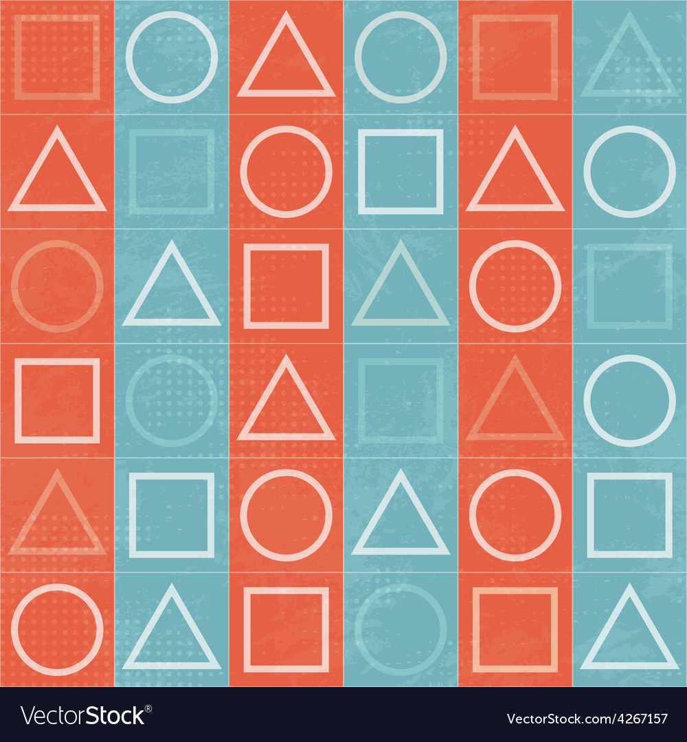 Abstract geometric game signs seamless texture vector | Price: 1 Credit (USD $1)
