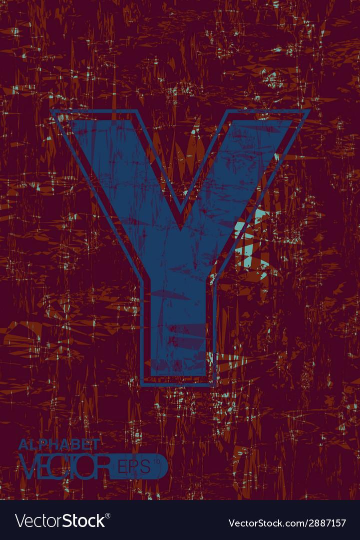 Alphabet y vector | Price: 1 Credit (USD $1)