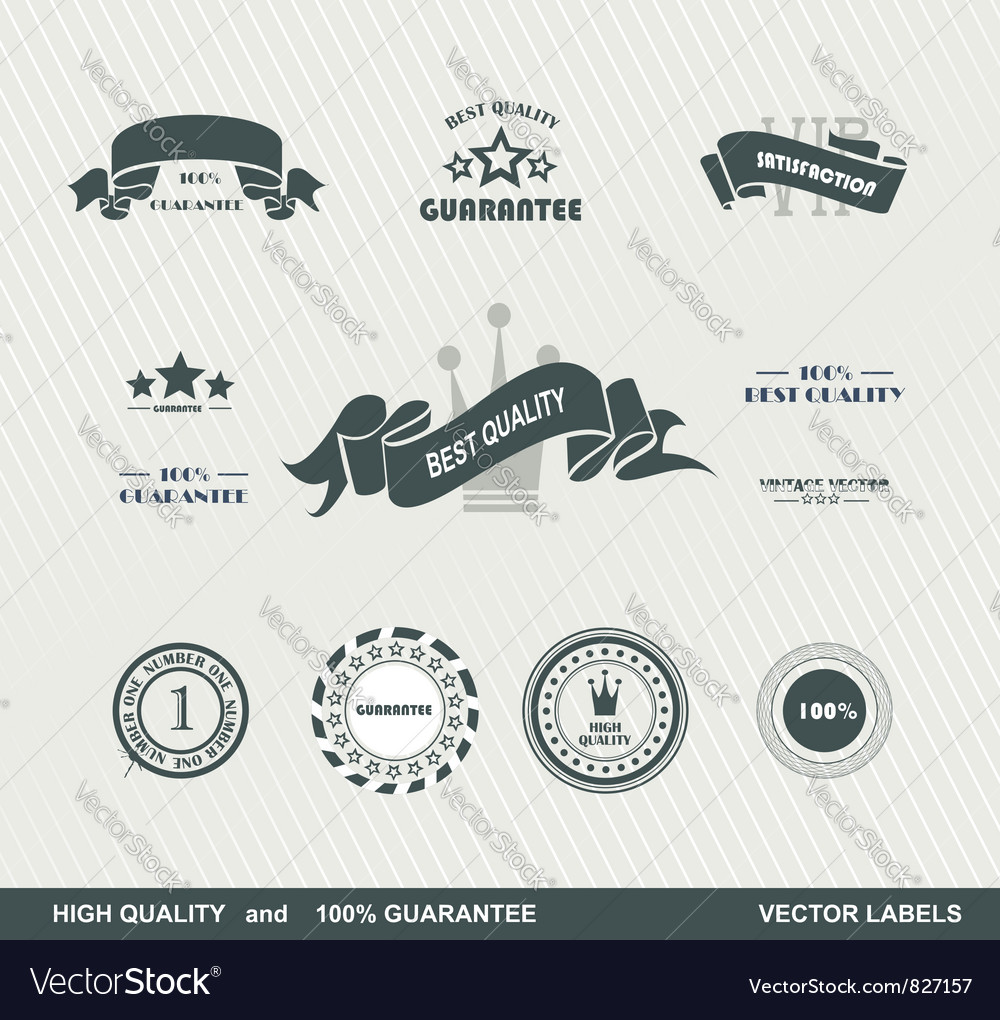 Labels retro 2 vector | Price: 1 Credit (USD $1)