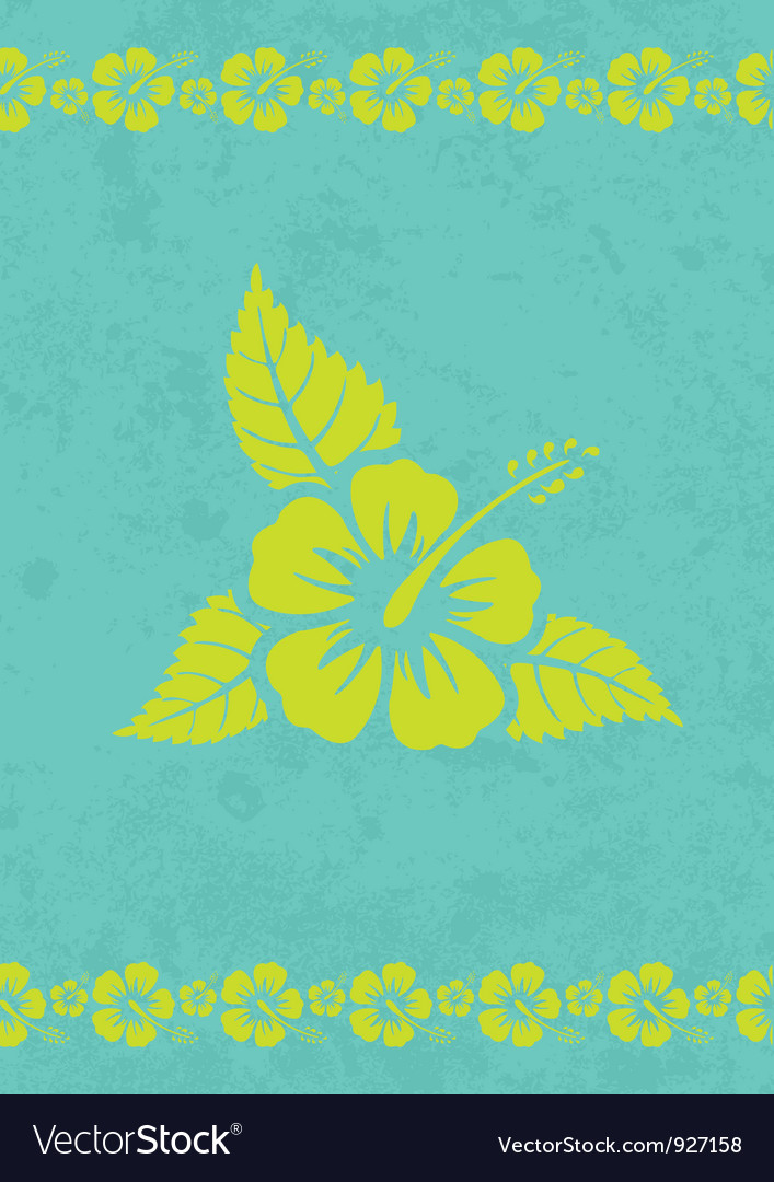 Aloha background vector | Price: 1 Credit (USD $1)