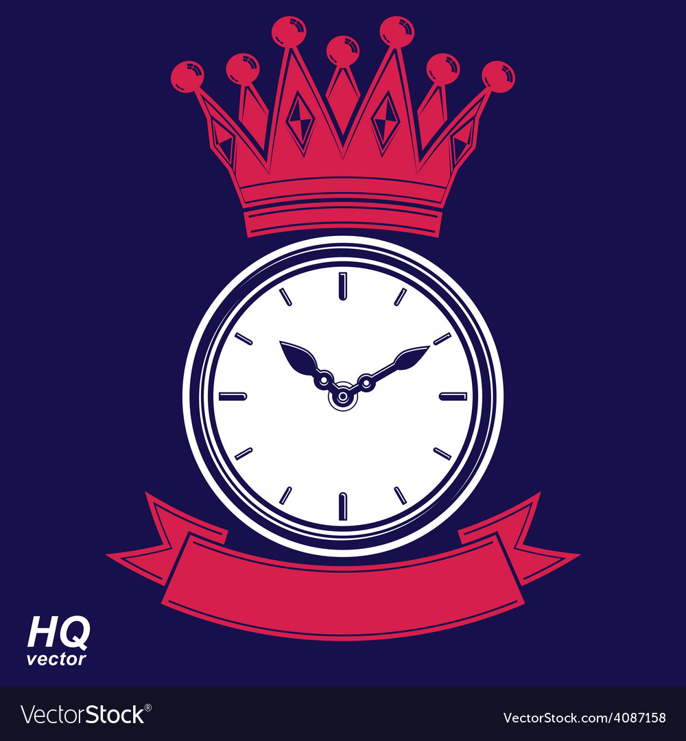 Best time management award eps8 icon luxury wall vector | Price: 1 Credit (USD $1)