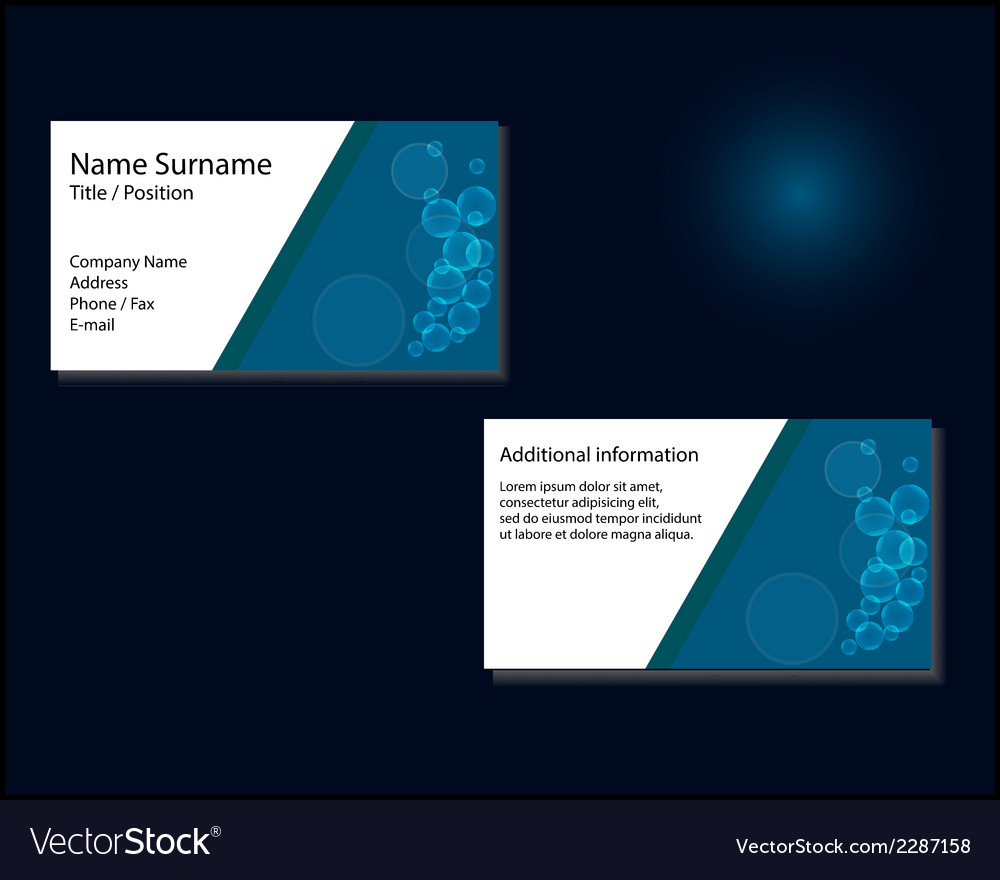 Business card layout vector   Price: 1 Credit (USD $1)