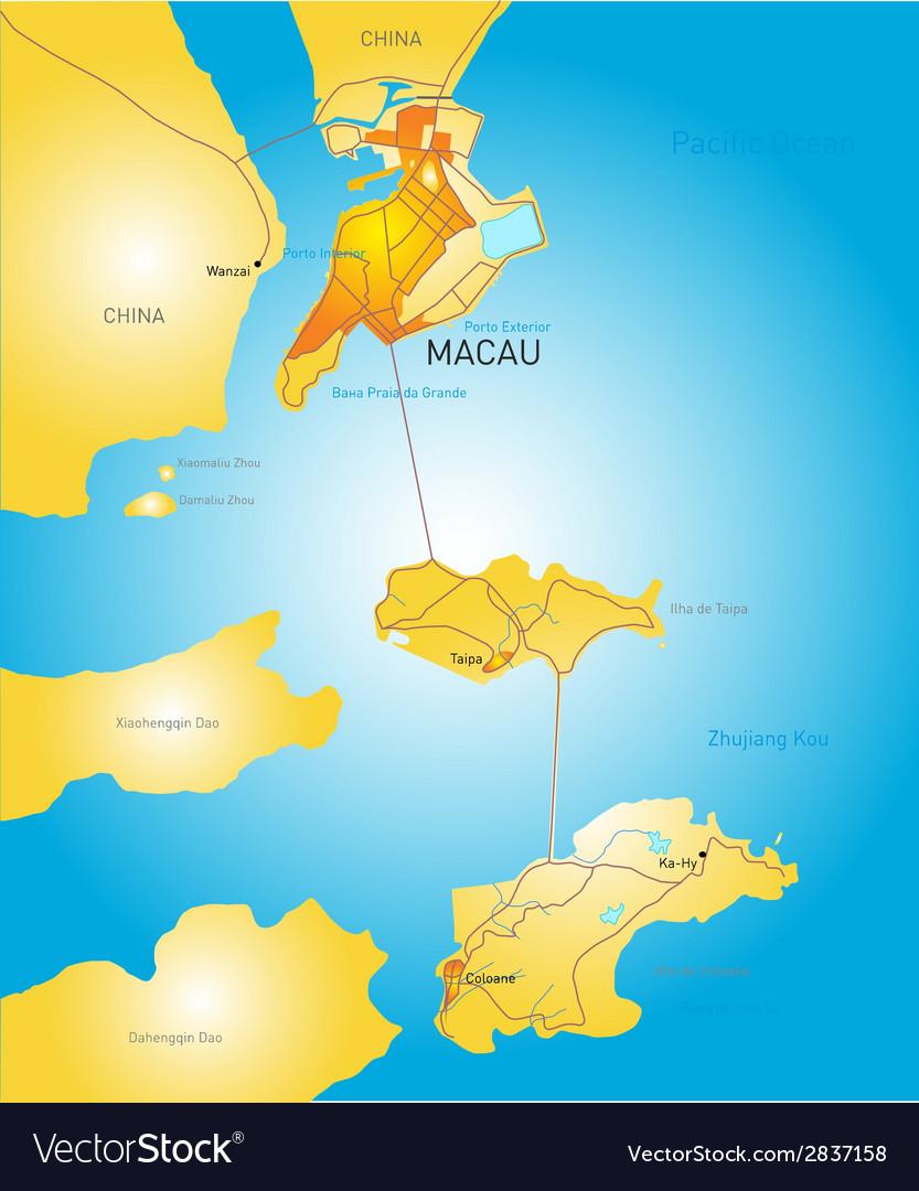 Macau vector | Price: 1 Credit (USD $1)