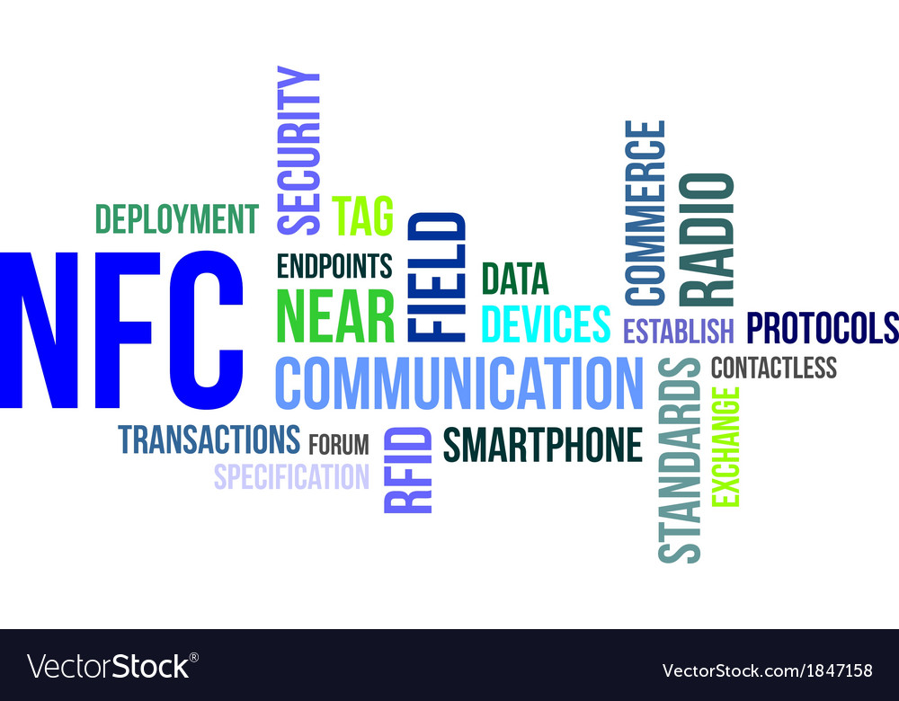 Word cloud nfc vector | Price: 3 Credit (USD $3)