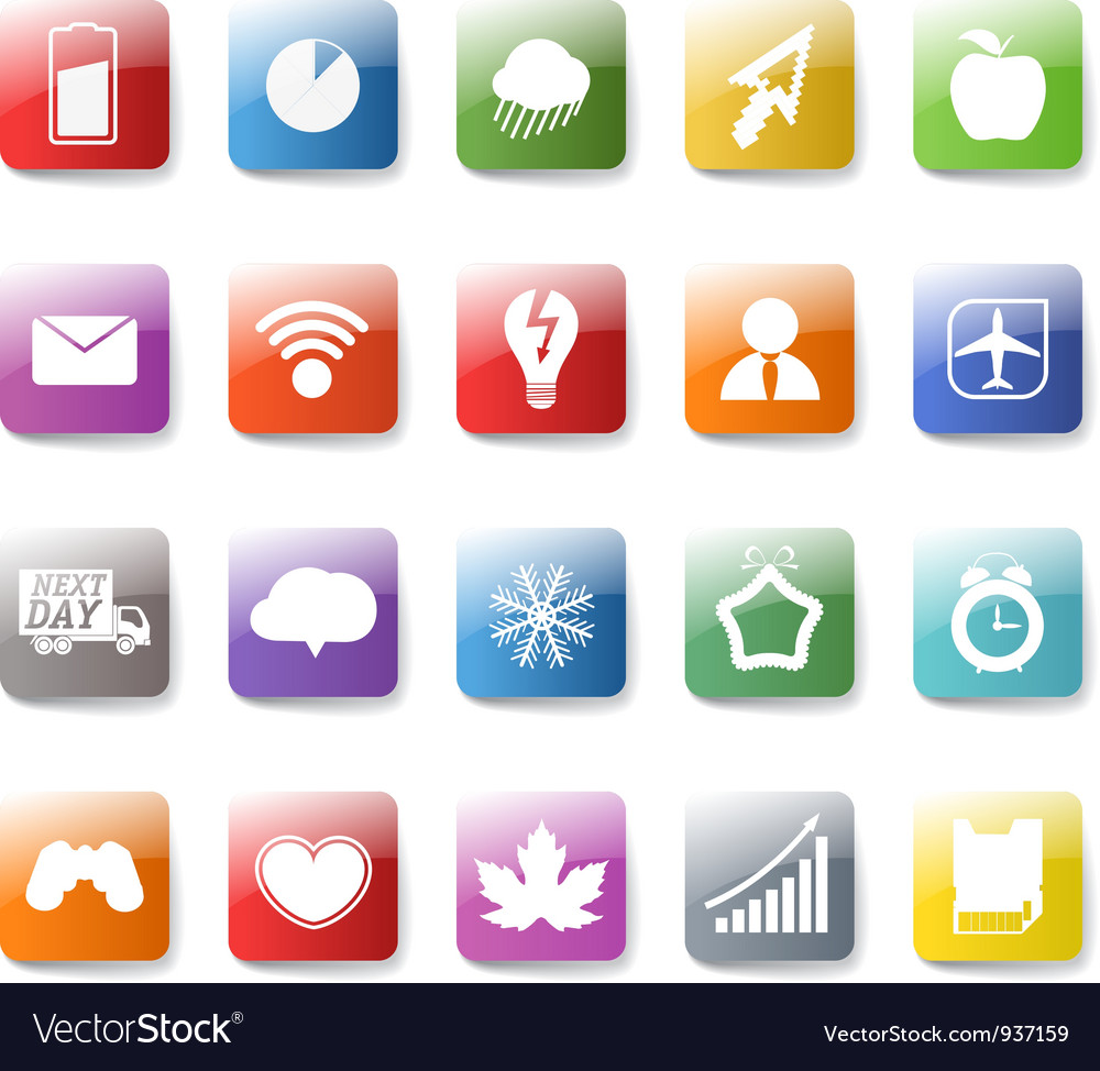 App icons background vector | Price: 1 Credit (USD $1)