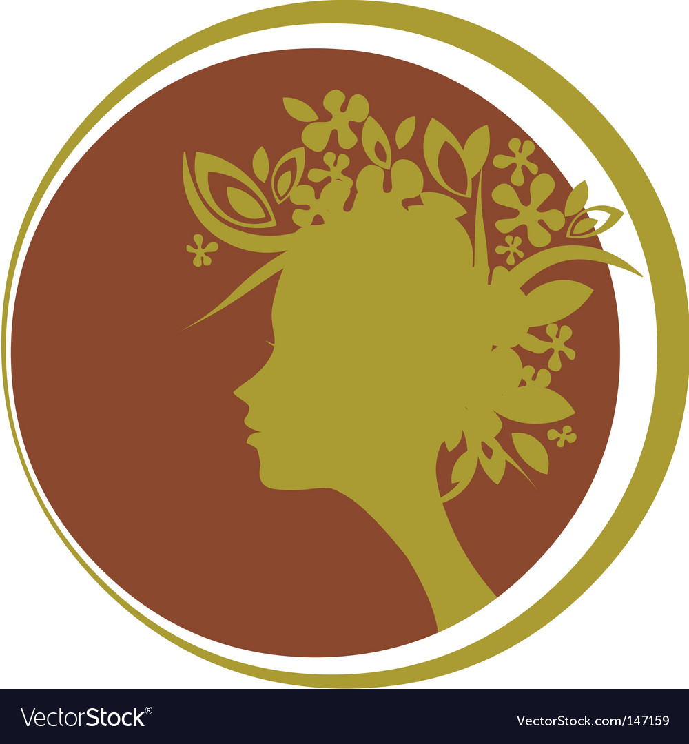 Head silhouette vector | Price: 1 Credit (USD $1)