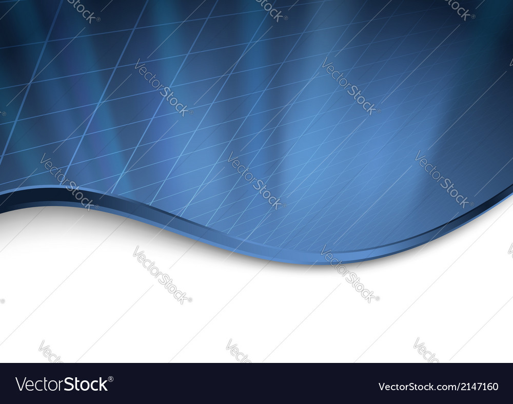 Abstract dark blue technology background vector | Price: 1 Credit (USD $1)