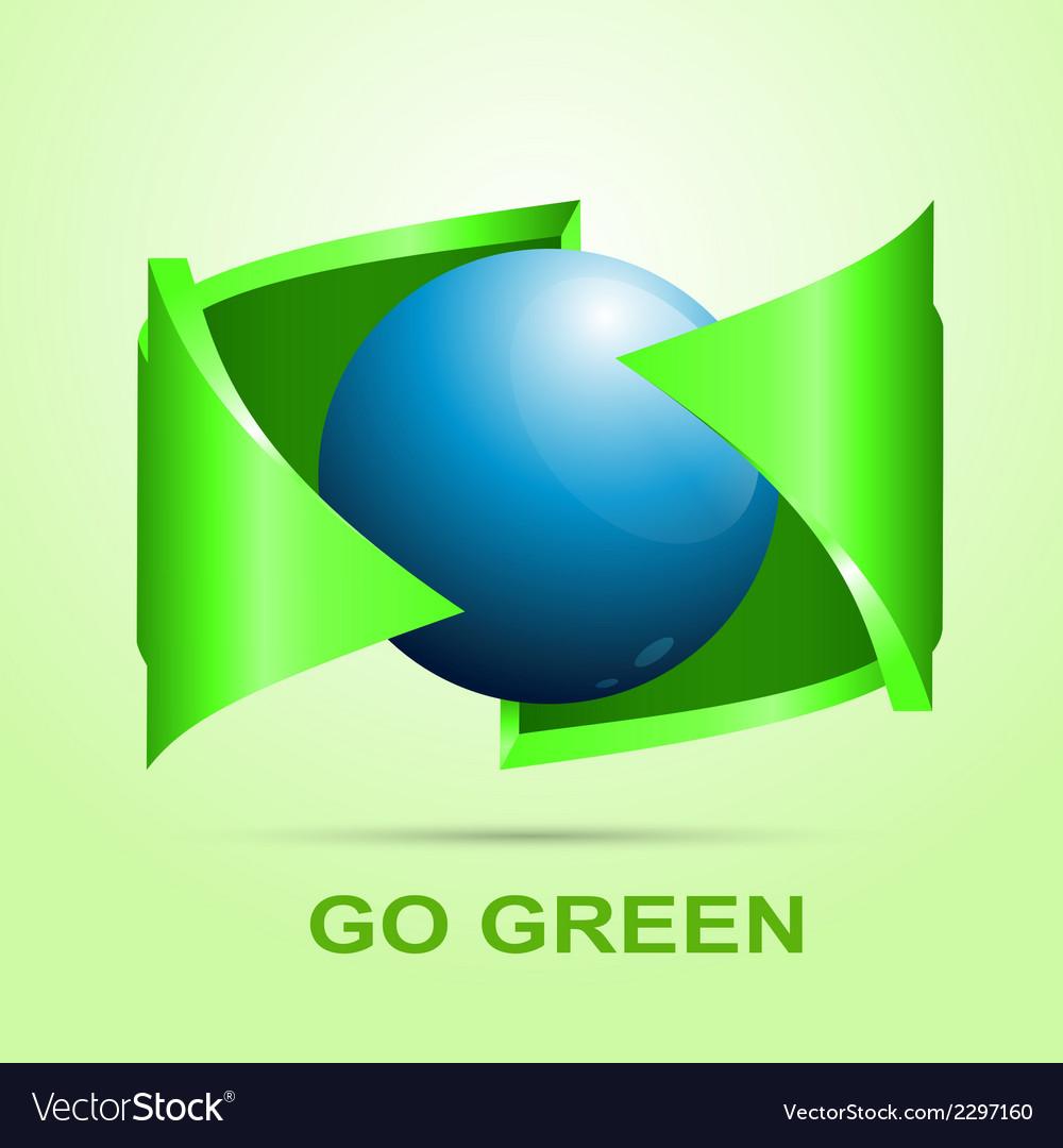 Eco icon design vector | Price: 1 Credit (USD $1)