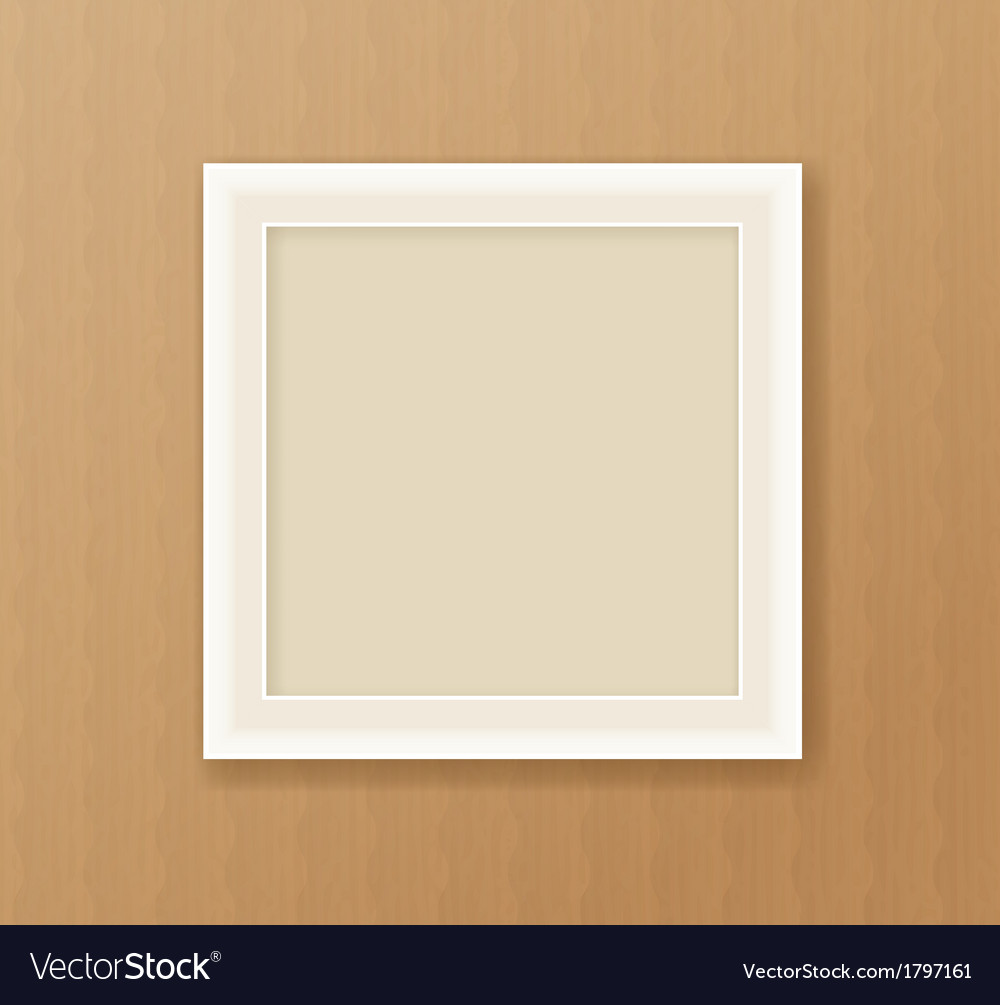 Paper frame on the cardboard background vector | Price: 1 Credit (USD $1)