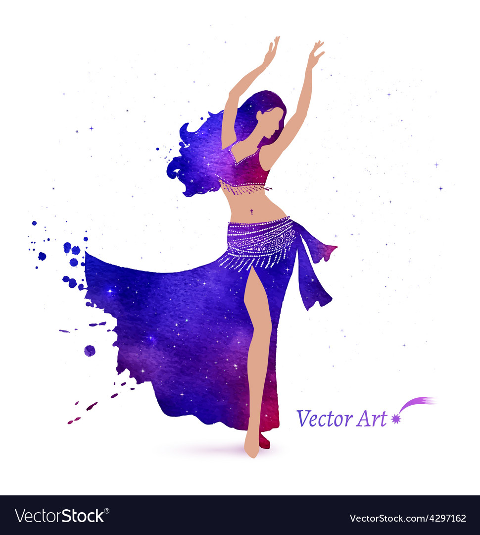 Belly dancer vector | Price: 1 Credit (USD $1)