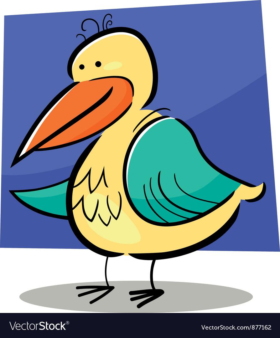 Doodle bird vector | Price: 1 Credit (USD $1)