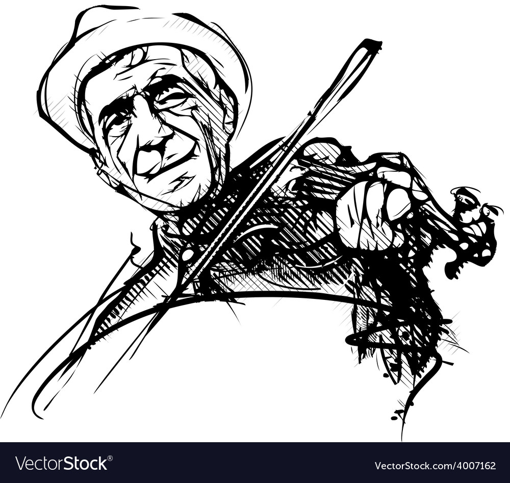 Fiddler vector | Price: 3 Credit (USD $3)