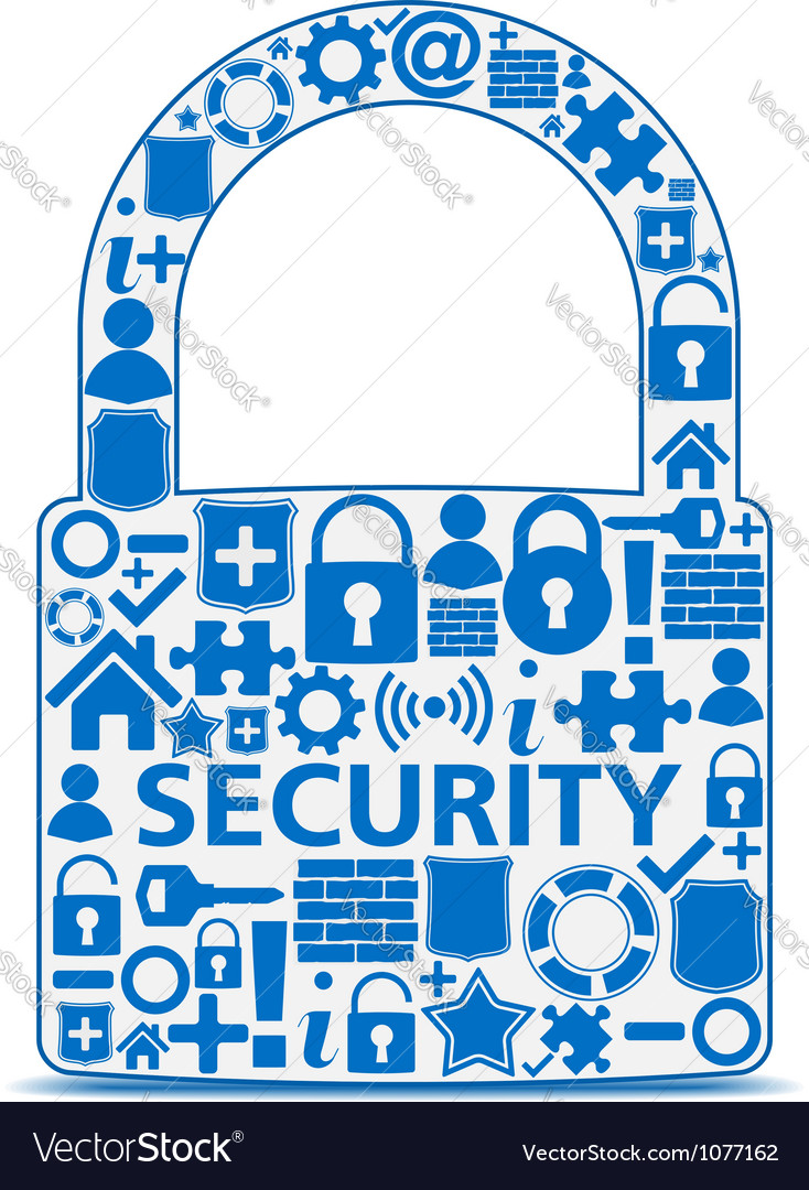 Security concept vector | Price: 1 Credit (USD $1)