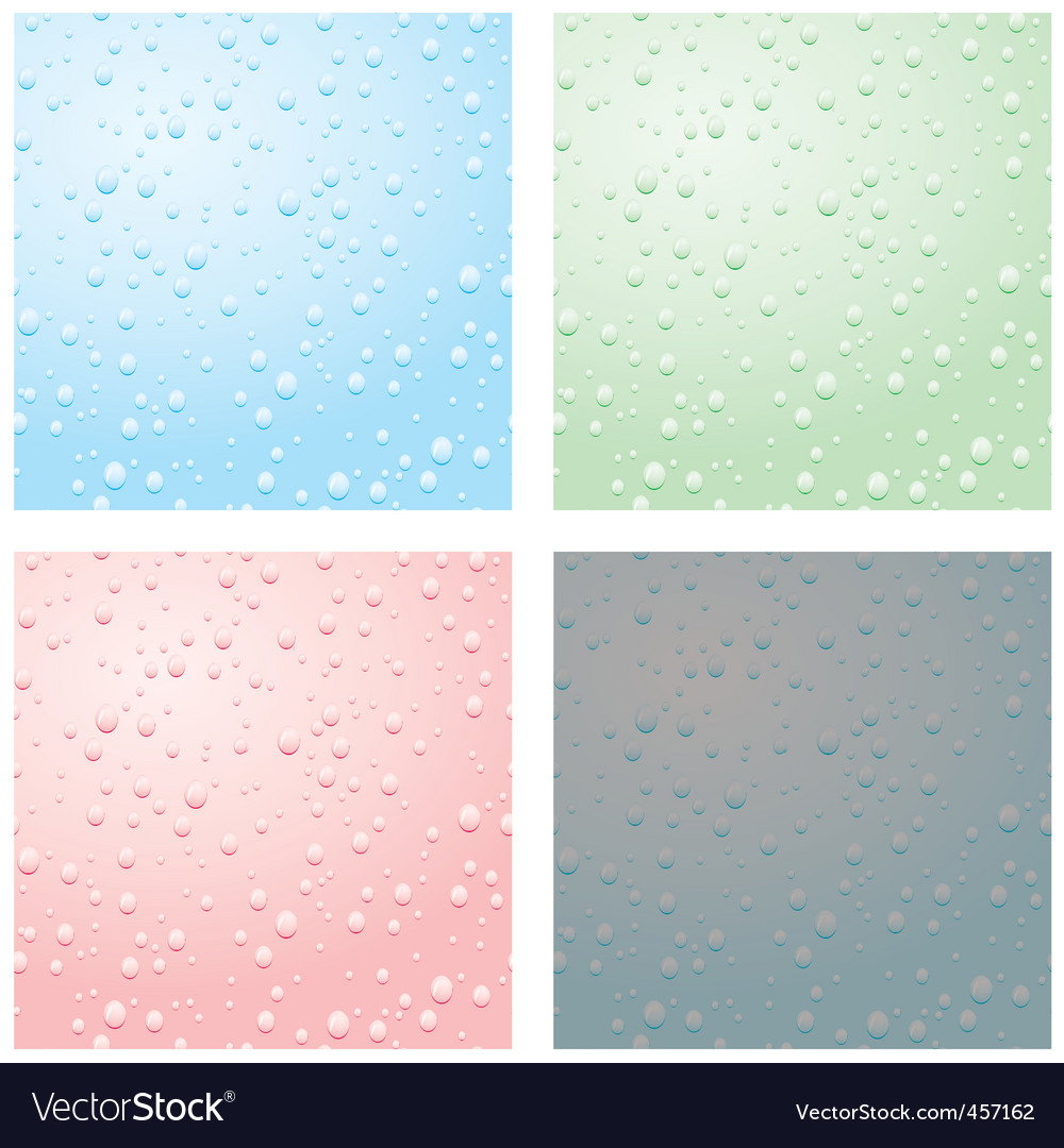 Set of raindrops vector | Price: 1 Credit (USD $1)
